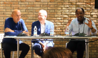 Okwui Enwezor, Rem Koolhaas, Hans Ulrich Obrist