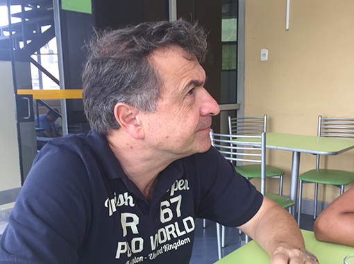 Gian Battista Bolis: «Gerade die jungen Frauen, die an der Nopoki-Universität studieren, sind meist die ersten ihrer Dörfer, die eine höhere Ausbildung machen.»