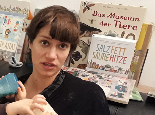Stefanie Thöny, social worker at the Zurich Women's Shelter: 'We try to create a space at the shelter where women and children feel safe.'