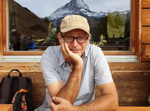 (Deutsch) Mathias Ospelt, Autor mit eigenem Schreibbüro: «Ich bin der Überzeugung, dass ich allein für das Erfüllende zuständig bin.»