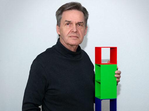 (Deutsch) Bruno Kaufmann, Kunstschaffender, Kunstpädagoge, Fotograf, Gründer der Kunstschule Liechtenstein: «Musiker schaffen auditive Strukturen und Erlebnisse, ich visuelle.»